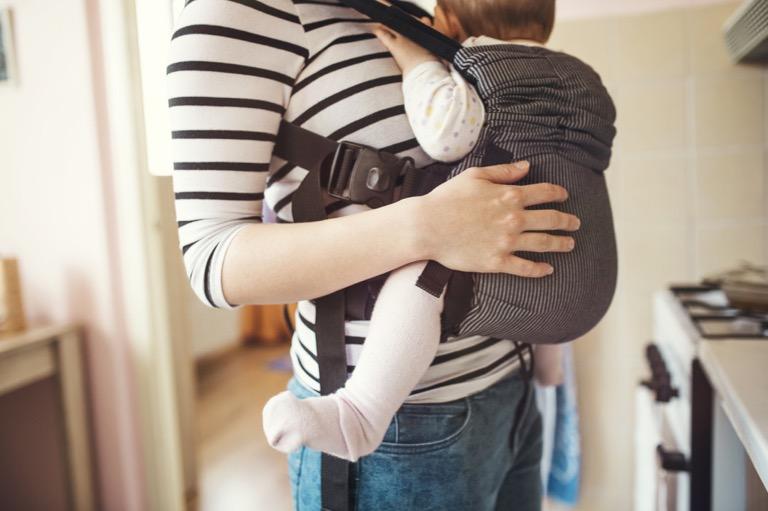 Địu Bảo vệ hông của trẻ sơ sinh