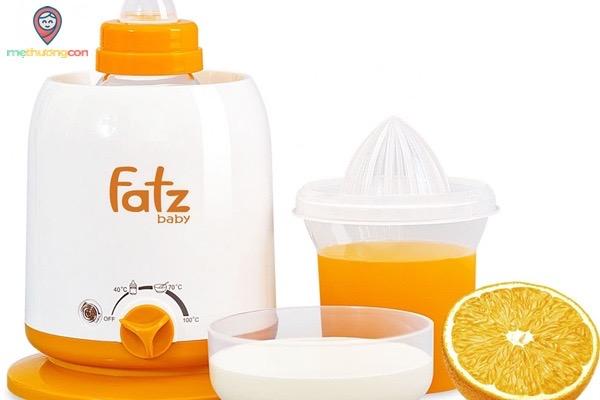 máy tiệt trùng bình sữa bằng hơi nước có sấy khô fatz baby